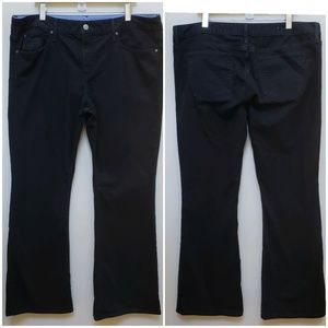 Gap Curvy Black Bootcut Jeans Size 35/20